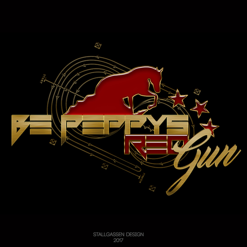 Logo Be Peppys Red Gun