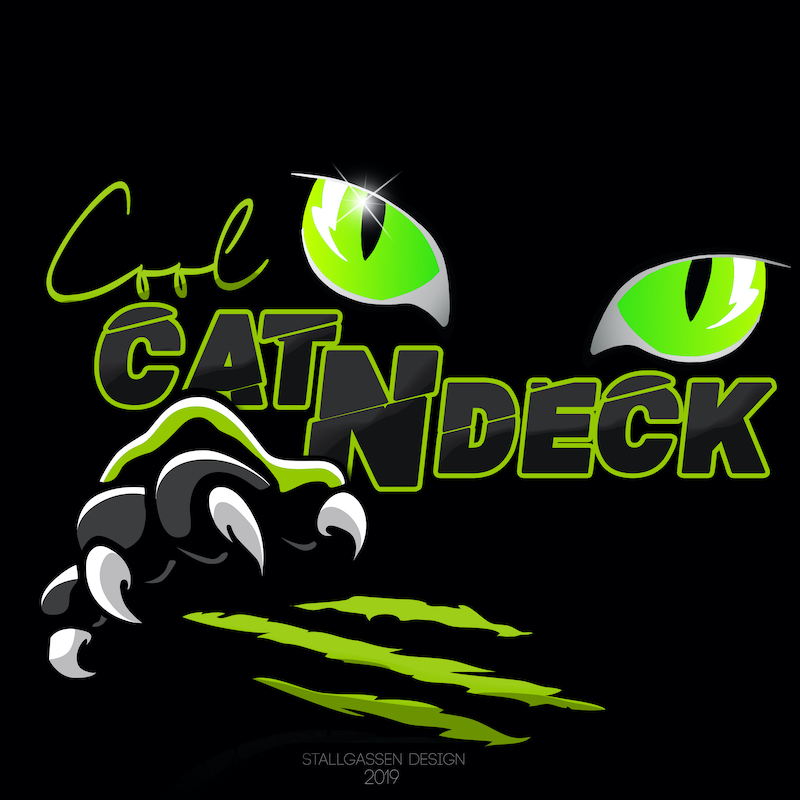 Logo Cool Cat N Deck