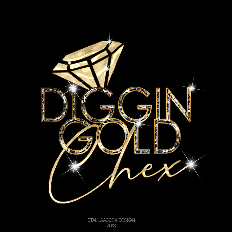 Logo Diggin Gold Chex