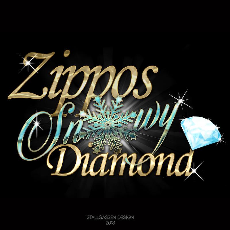 Logo Zippos Snowy Diamond
