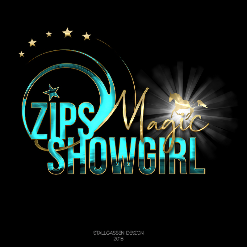 Logo Zips Magic Showgirl